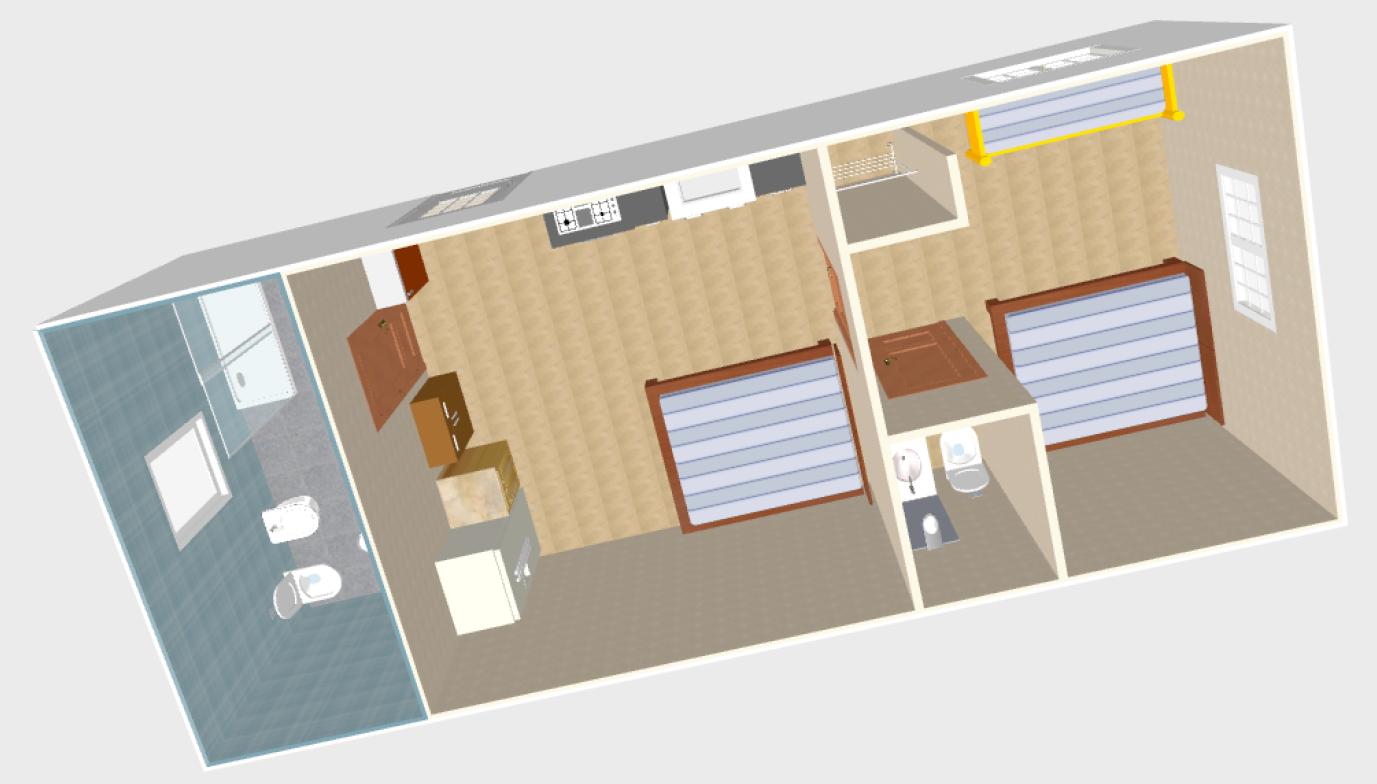 Vista 3D Villa Superiore