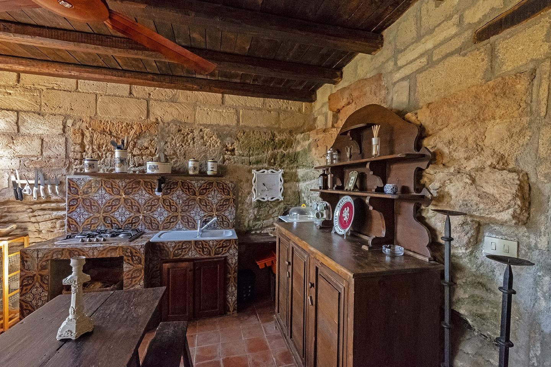 Particolare cucina soggiorno